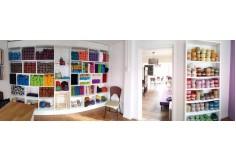 Ven a compartir con nosotras diversas técnicas de manualidades y tejido en el taller de la Cafetería Lanas y Café en la Serena